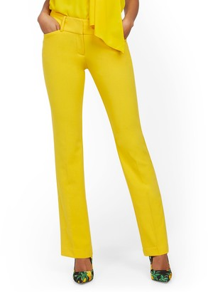 New York & Co. Tall Barely Bootcut Pant - Mid Rise - Double Stretch - 7th Avenue