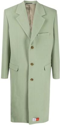 Martine Rose Single Breasted Coat