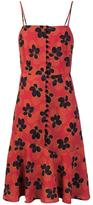 Suno floral print flared dress