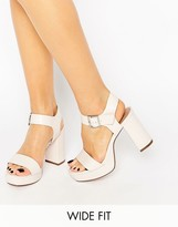 Asos HARBOUR Wide Fit Platform Sandals