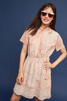 Not So Serious by Pallavi Mohan Beaded Marble Shirtdress