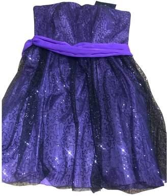 Oleg Cassini Purple Dress for Women