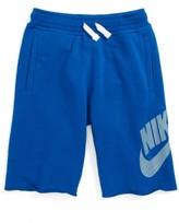 Nike Boy's 'Alumni' French Terry Knit Shorts
