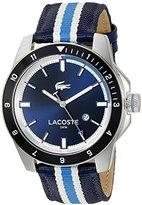 Lacoste Men's 2010809 Durban Analog Display Japanese Quartz Blue Watch