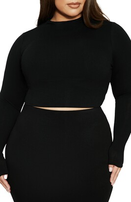 Naked Wardrobe The NW Crop Top