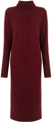 Haider Ackermann Roll Neck Knitted Dress