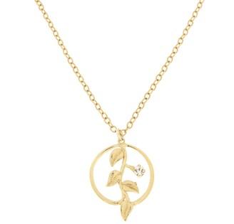 Rosaspina Firenze Foliage Gold Necklace