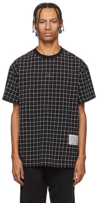A-Cold-Wall* Black Grid T-Shirt