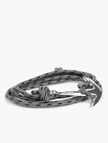 Miansai Grey Silver-plated Anchor Bracelet