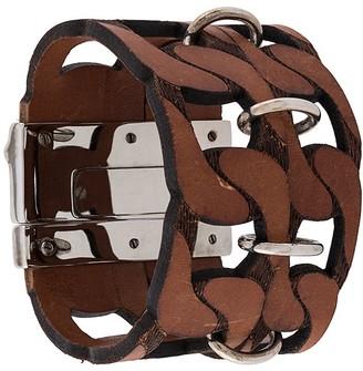 Gianfranco Ferré Pre Owned 2000s Cut-Out Bracelet