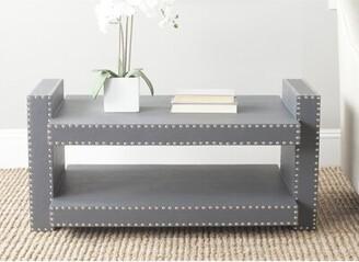 "Safavieh Nara 33"" Console Table Color: Grey"