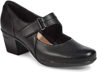 Clarks Collection By Emslie Lulin Leather Mary-Jane Shoes