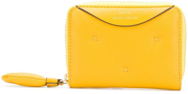 Anya Hindmarch Chubby small zip-around wallet