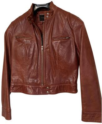 Oakwood Burgundy Leather Leather jackets