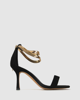 betts Women's Heeled Sandals - Cript Ankle Chain Stilettos - Size One Size, 5 at The Iconic