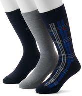 Chaps Men's 3-pack Ribbed Socks
