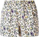 Bellerose printed mini shorts - women - Viscose - 0
