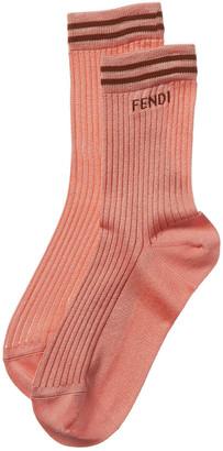 Fendi Knit Stripes Socks