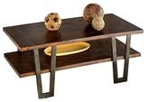 Progressive Sedona Coffee Table - Wire Brushed Light Elm Furniture