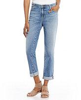 Eileen Fisher Cuffed Hem Boyfriend Jeans