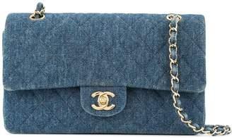 Chanel Pre-Owned 1997-1999 denim double shoulder bag