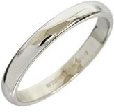 Tiffany & Co. Platinum Simple Wedding Band Size 8.75 Ring