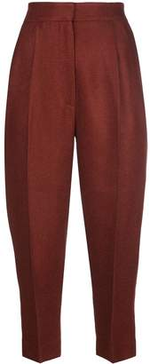 Petar Petrov high waist cropped trousers