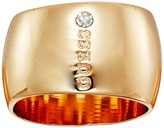 GUESS Wide Logo Band Ring