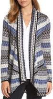Nic+Zoe Petite Women's Triangle Bliss Cardigan
