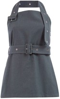 Rokh Belted Bustier Top
