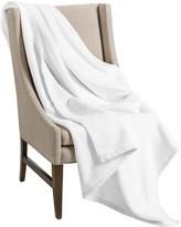 "DownTown Company Granny Throw Blanket - Egyptian Cotton, 50x70"""