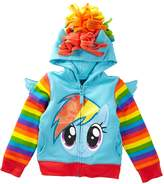 Freeze My Little Pony Rainbow Dash Costume Hoodie (Toddler Girls)