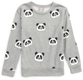 Flowers by Zoe Girl's All Over Panda Sweatshirt