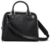 Loewe 'Small Amazona 75' Leather Satchel - Black