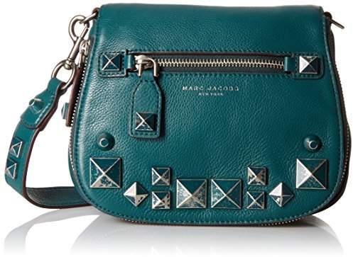 Marc Jacobs Small Recruit Chipped Studs Saddle Bag