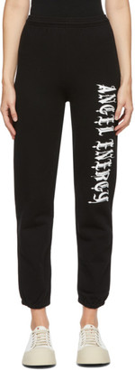 Ashley Williams Black Angel Energy Lounge Pants