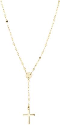 LANA GIRL BY LANA JEWELRY Girls' Mini Cross Pendant Necklace