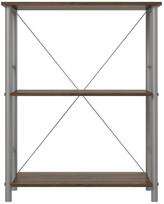 Design Studio A Devon 3 Shelf Bookcase, Walnut