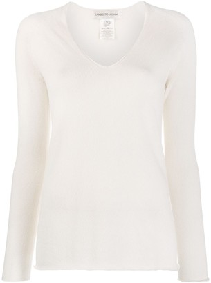 Lamberto Losani Raglan-Sleeve Knitted Top