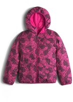 The North Face Girl's 'Perrito' Reversible Water Repellent Hooded Jacket