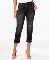 Calvin Klein Jeans Worn In Black Wash Boyfriend Jeans