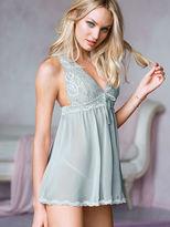 Victoria's Secret Dream Angels Lace & Chiffon Halter Babydoll