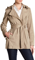 Vince Camuto Hooded Rain Coat