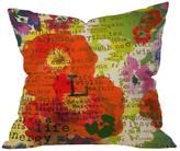 DENY Designs Irena Orlov Poppy Poetry 3 Throw Pillow