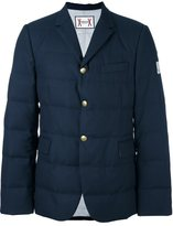 Moncler Gamme Bleu padded blazer - men - Cotton/Feather Down/Cupro/Wool - 6