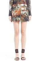 Valentino Women's Tie Dye Stretch Cotton Skirt