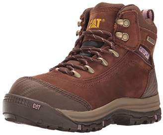 "Caterpillar Women's Ally 6"" Waterproof Comp Toe Industrial and Construction Shoe"