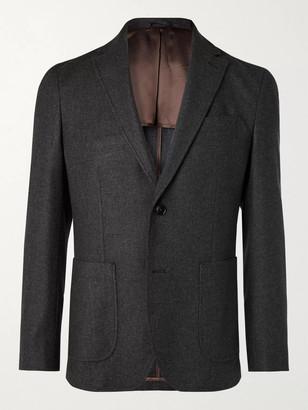 NN07 Harvey Unstructured Flannel Suit Jacket