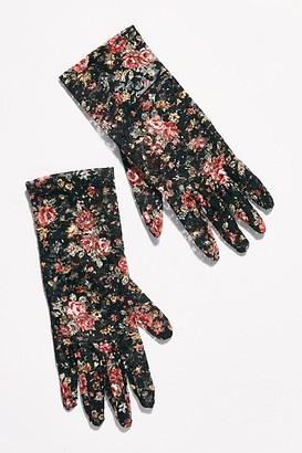 Free People Tea Party Lace Gloves