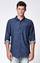 Modern Amusement Denim Long Sleeve Button Up Shirt